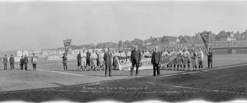 Pennant Day 1914 at Athletic Park